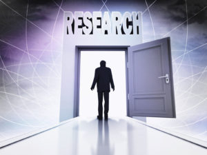 Are You Researching to Get Inside the Company's Door?